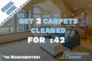 Get 2 carpets cleaned for 42GBP