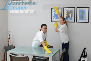 Commercial cleaning services in Manchester