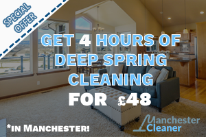 Get 4 hours of deep cleaning for 48GBP