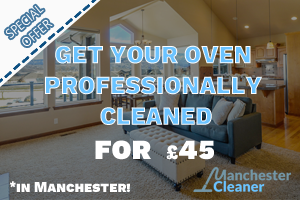 Get your oven professionally cleaned for 45 GBP