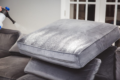 Professional upholstery cleaning by Manchester Cleaner