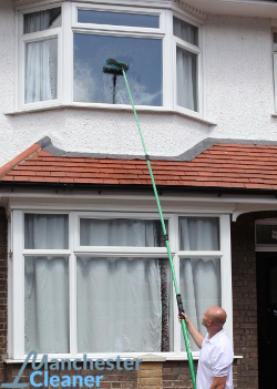 Exterior window cleaning in Manchester